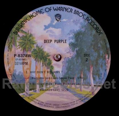 deep purple - deep purple japan lp