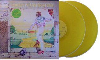 Elton John - Goodbye Yellow Brick Road UK yellow vinyl LP