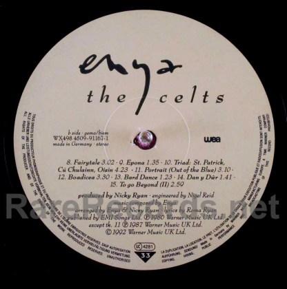 enya - the celts german lp