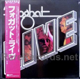 foghat live japan lp