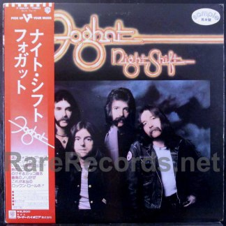 foghat - night shift japan promo lp