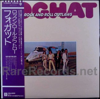 foghat - rock and roll outlaws japan lp