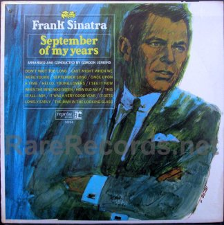 frank sinatra - september of my years u.s. mono lp