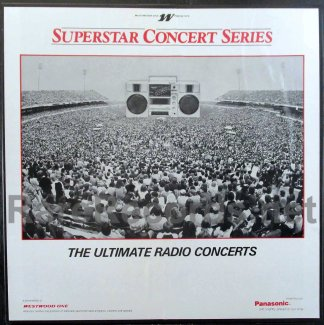 genesis - westwood one superstars in concert radio show lp