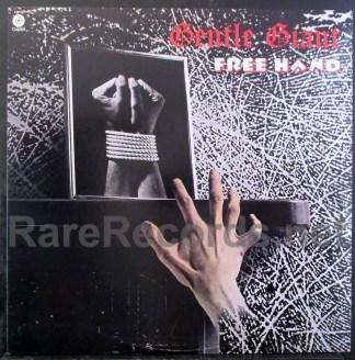 gentle giant - free hand u.s. lp