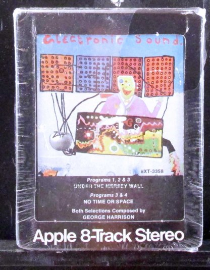 george harrison - electronic sound 8 track tape