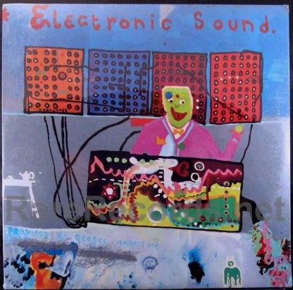 george harrison - electronic sound u.s. lp
