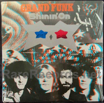 Grand Funk - Shinin' On lp