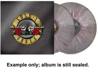 guns n' roses - greatest hits splatter vinyl lp