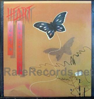 heart - dog & butterfly uk lp