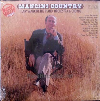 henry mancini - mancini country multicolor vinyl lp