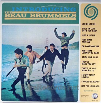 Beau Brummels - Introducing 1982 Rhino reissue LP