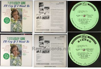 Lesley Gore - 16 different promo label LPs - nearly complete promo collection
