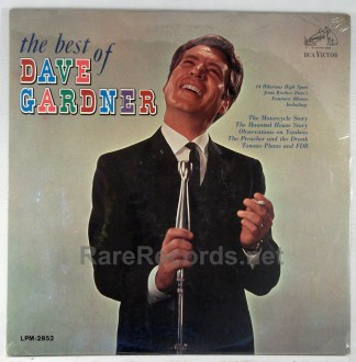 Dave Gardner - The Best of Dave Gardner sealed original 1964 comedy LP