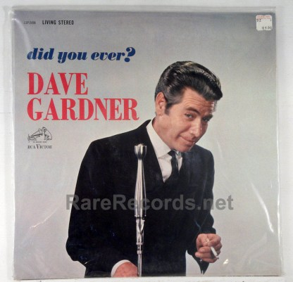 Dave Gardner - Did You Ever?  sealed 1962 stereo comedy LP