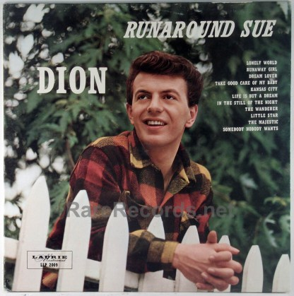 Dion - Runaround Sue ultra-rare brown vinyl 1961 LP