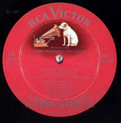 Martinon/LSO - Dvorak - Slavonic Dances 1960 RCA Living Stereo LP 1s