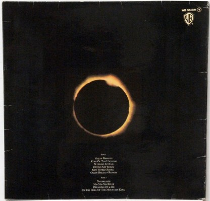 Electric Light Orchestra - On the Third Day original German LP with original cover