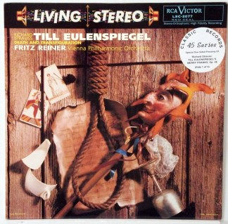 Strauss - Till Eulenspiegel - Reiner/Vienna Philharmonic Classic Records 4 LP 45 RPM set