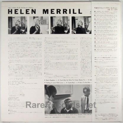 Helen Merrill - Helen Merrill Japan LP with obi
