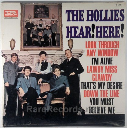Hollies - Hear! Here! sealed 1965 mono LP