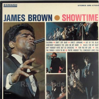 James Brown - Showtime sealed 1964 stereo LP