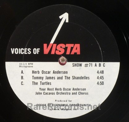Lesley Gore - Voices of Vista complete set of 7 radio shows