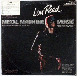 Lou Reed - Metal Machine Music rare 1975 Quadraphonic 2 LP set