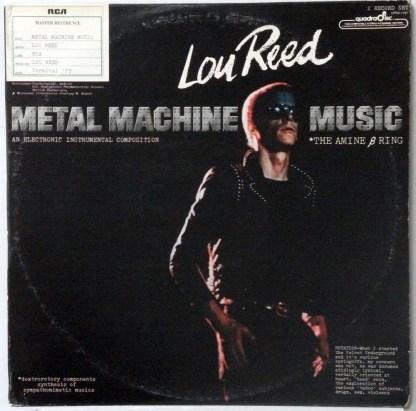 Lou Reed - Metal Machine Music rare 1975 Quadraphonic 2 LP set