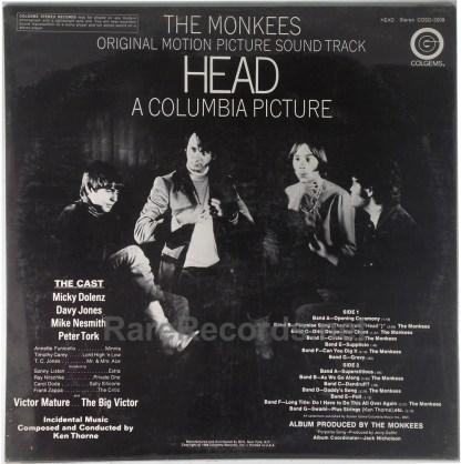 Monkees - Head sealed original 1968 Colgems LP