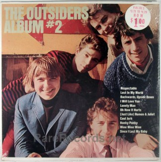 Outsiders - Album #2 sealed 1966 mono LP