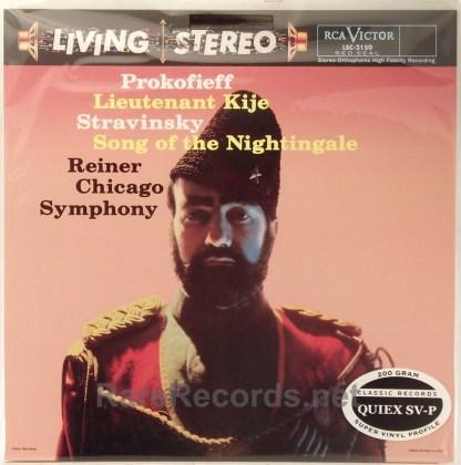 Reiner/Chicago Symphony - Prokofiev - Lt. Kije Classic Records sealed 200 gram LP