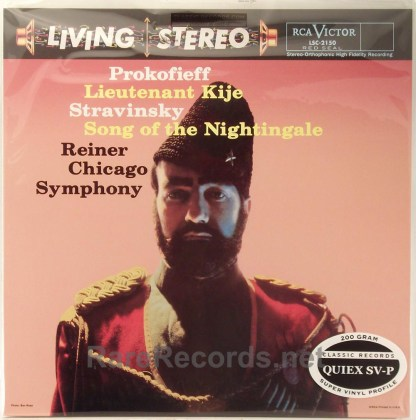Reiner/Chicago Symphony - Prokofiev - Lt. Kije Classic Records sealed 200 gram LP