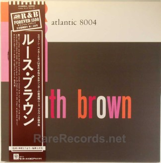 Ruth Brown - Ruth Brown Japan reissue LP with obi