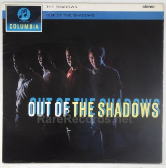 Shadows - Out of the Shadows 1962 UK stereo LP