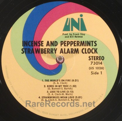 Strawberry Alarm Clock - Incense and Peppermints 1967 stereo LP