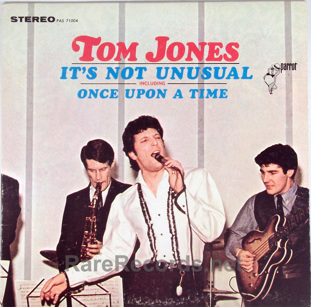 Tom Jones It S Not Unusual 1965 Stereo Lp With Withdrawn