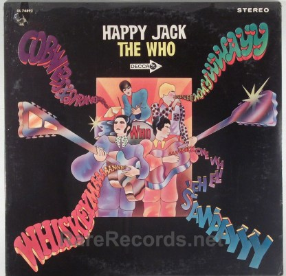 Who - Happy Jack sealed 1966 stereo LP