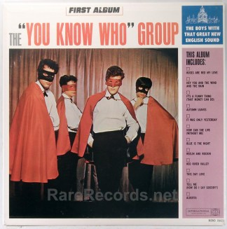 You Know Who Group - First Album 1965 mono British Invasion LP