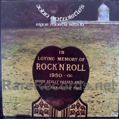 john entwistle - rigor mortis sets in LP