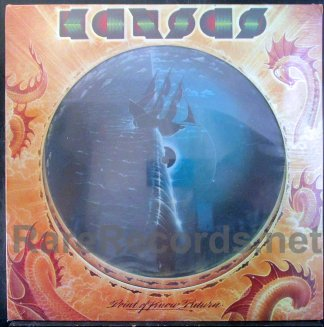 kansas - point of know return picture disc LP