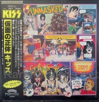 kiss - unmasked japan lp