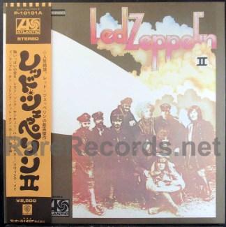 led zeppelin II - japan LP