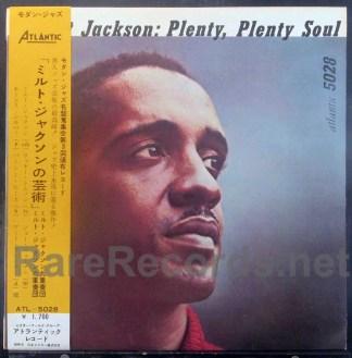 milt jackson - plenty plenty soul japan lp