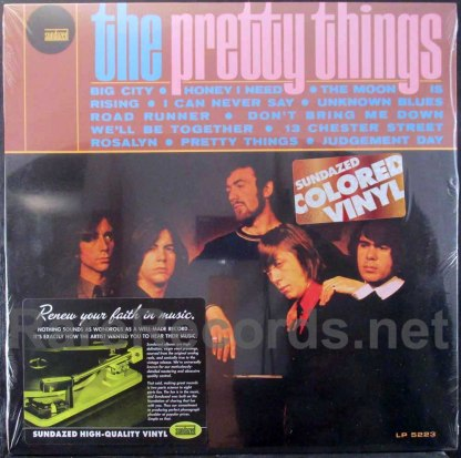 pretty things - pretty things colored vinyl sundazed lp