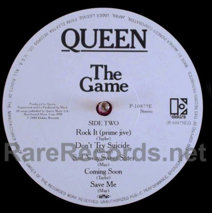 queen - the game japan lp
