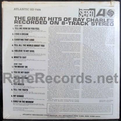 ray charles - great hits u.s. lp