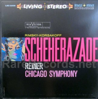 reiner/cso - scheherazade classic records test pressing LP