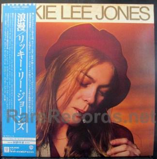 Rickie Lee Jones - Rickie Lee Jones Japan LP