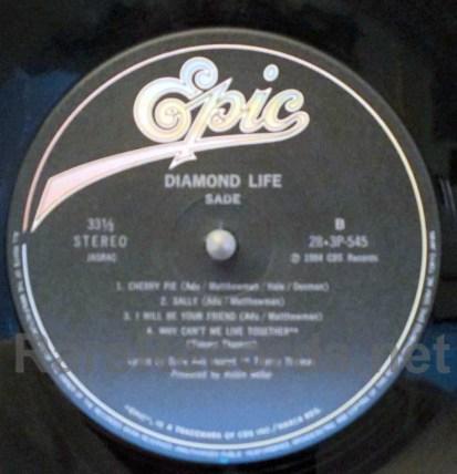 sade - diamond life japan lp